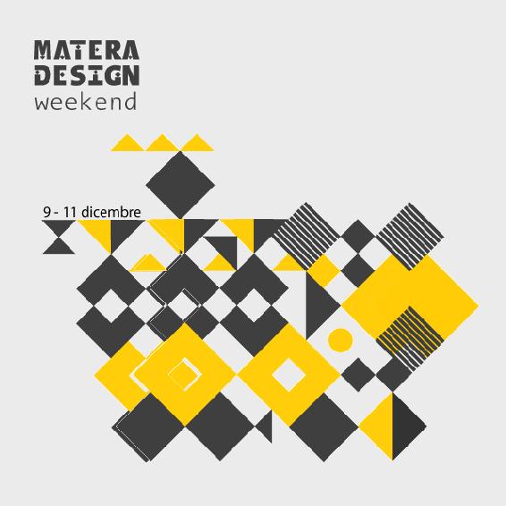 Cartel certamen Matera Design weekend